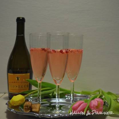 coctail Mousserande drink prosecco
