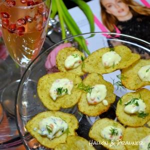 coctail Potatischips med romdipp