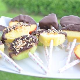 Frukt och choklad